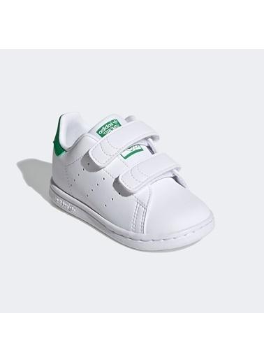 adidas Unisex Bebek Stan Smith Sneakers FX7532.Beyaz Beyaz
